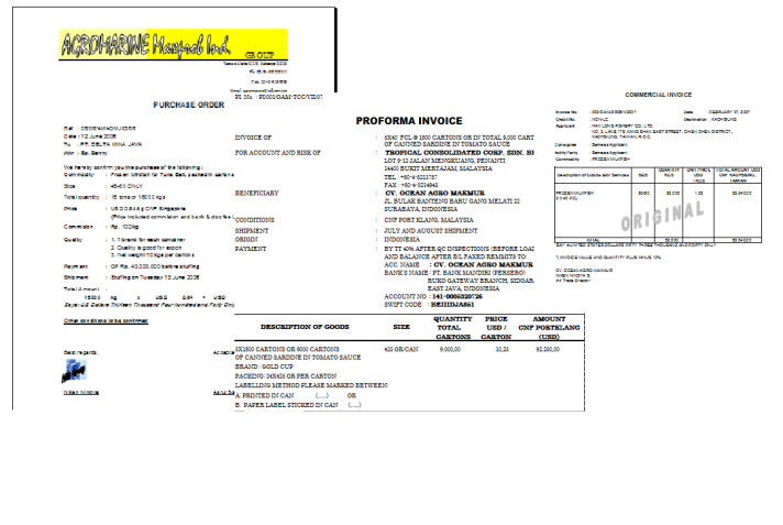 Contoh print out document